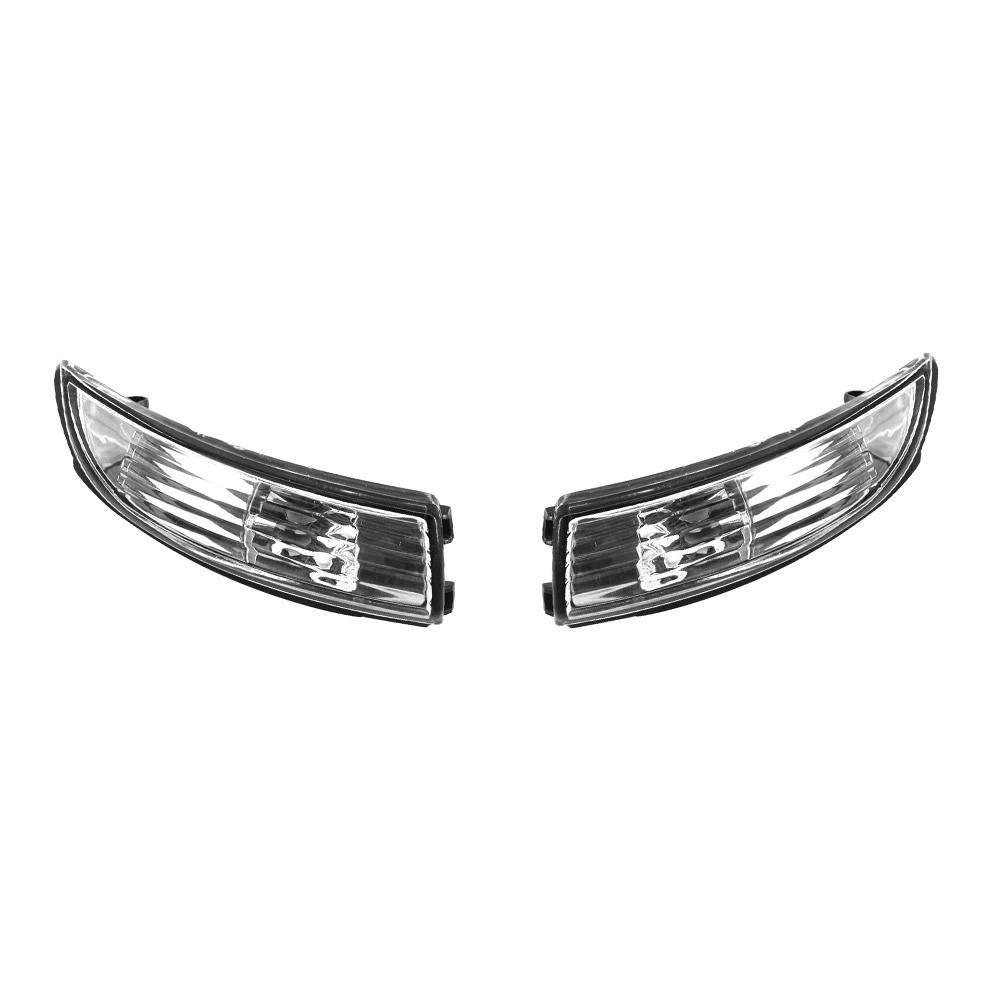 Everpert retrovisore Laterale Specchio di direzione luci indicatori Luminosi Senza Lampadina per Ford Fiesta 2008/ /2016