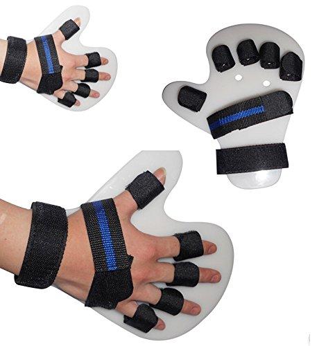 ixaer Finger Splint Training-1 Finger Orthotics Points Fingerboard Stroke Hemiplegia Finger Splint Training (Left Hand) Large Size