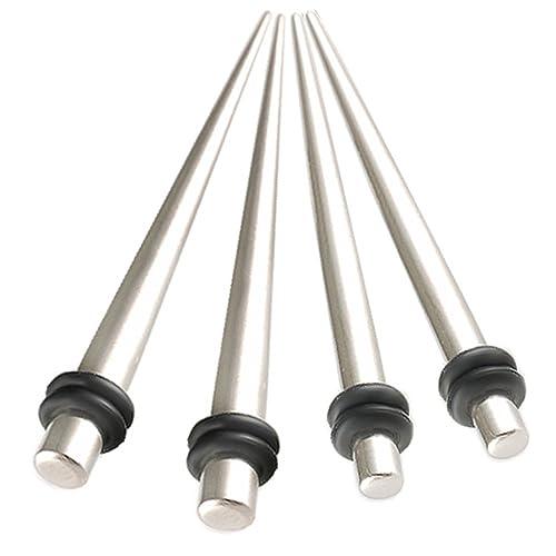 Amazon.com: 4 piezas 12 G 12 calibre 2 mm. 8 G 3 ancho acero ...