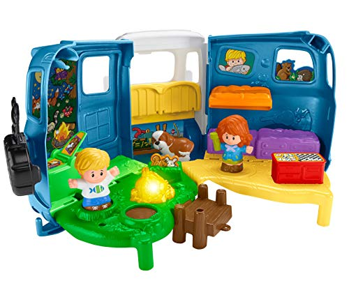 51RTBm%2BWO1L - Fisher-Price Little People Songs & Sounds Camper