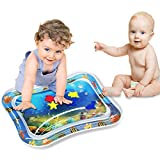 BSTC Inflatable Tummy Time Baby Play Mat, Water Play Mat - BPA Free - Comfortable for Baby - Inspire Your Kids to Explore The Fun of Ocean World and Develop Imaginative Mat for Infants & Toddlers