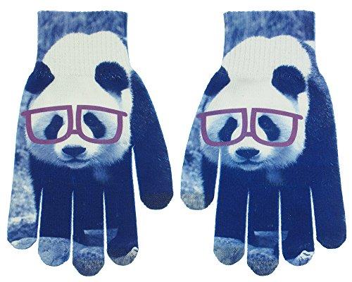 Capelli新しいYork NerdyパンダMagic Glove With 3指タッチ