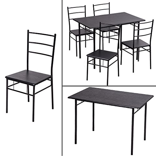 5PCS Dining Table Set Kitchen Dinette Table with 4 Chairs  : 51RTC37aSOL from www.desertcart.ae size 500 x 500 jpeg 33kB