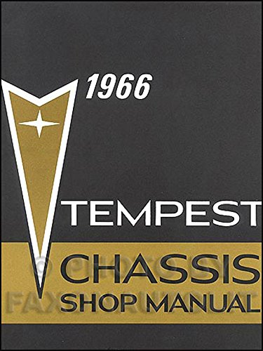 1966 Pontiac Tempest LeMans GTO Repair Shop Manual - Tempest Convertible Pontiac