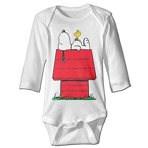 Snoopy & Woodstock Baby Onesie Toddler Clothes -