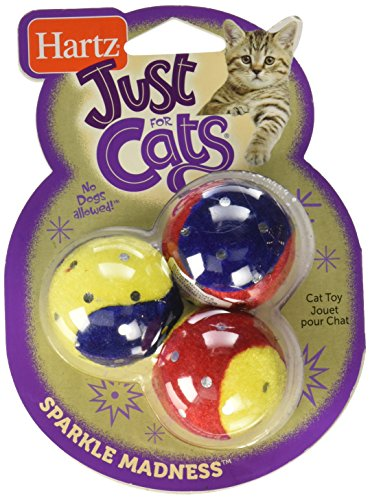 Hartz Just for Cats Sparkle Madness Toy (Hartz Cat Toys)
