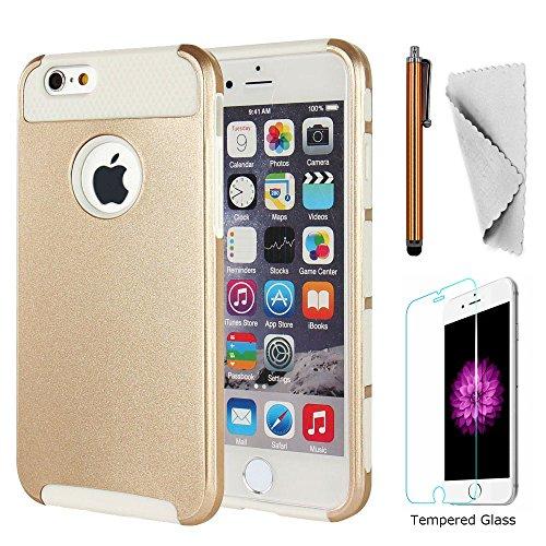 iphone 6 case dual layer bumper - 3