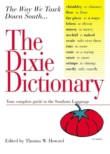 Read Online The Dixie Dictionary pdf
