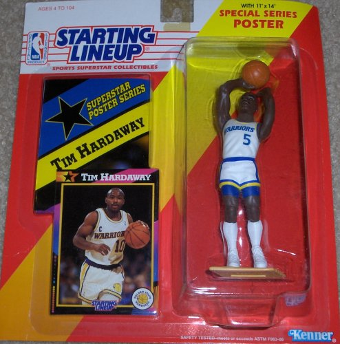 1992 NBA Starting Lineup - Tim Hardaway - Golden State Warrior by Starting Lineup