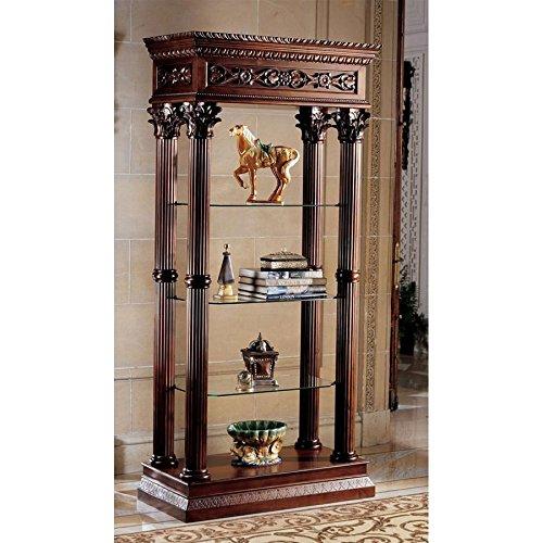 Design Toscano Broadgate Grand Curio Cabinet