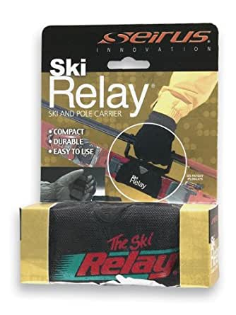 Seirus Innovation 4201 Ski Relay Ski and Pole Carrier for Easy Transportation from House to the Hill