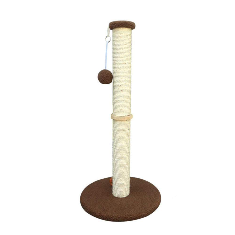 TOUYOUIOPNG Deluxe Multi Level Cat Tree Cat Play Towers Cat tree medium Cat Scratch column plush cat toy sisal thick prop 40  85cm