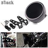 motorcycle headlight assembly - Hozan Black 5.75