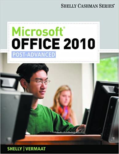 Microsoft office 2010 post advanced shelly cashman series 001 microsoft office 2010 post advanced shelly cashman series 001 gary b shelly misty e vermaat ebook amazon fandeluxe Gallery
