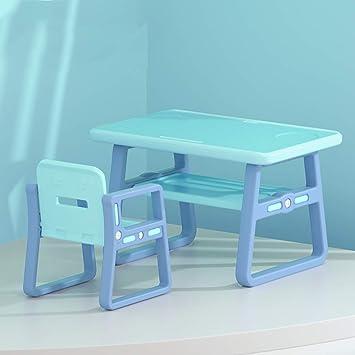 CTC Juego de mesa y silla para niños, mesa portátil para ...