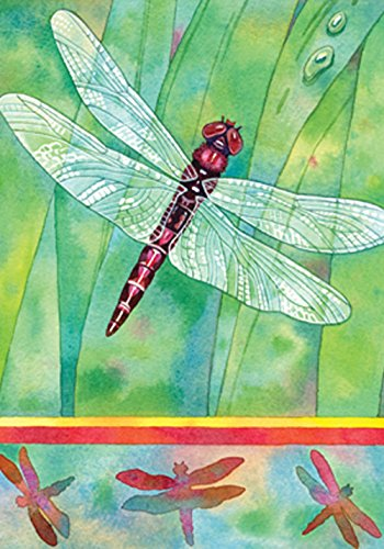 Toland Home Garden 108235 Dragonfly 28 x 40 Inch Decorative, House Flag (28