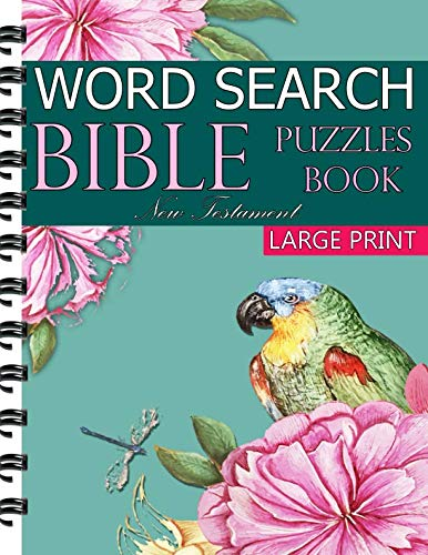 New Testament Bible Word Search Book: 200 Large Print Puzzles ()