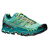 La Sportiva Ultra Raptor Women's Mountain Trail Running Shoe, Emerald/Mint, 42