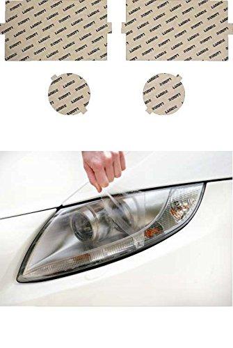 02 Clear Headlight Protection - Lamin-x D017CL Headlight Cover
