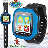 "1.5"" Touchscreen Kids Game Smartwatch for Boys Girls Toddler Fitness Tracker with Pedometer Camera Alarm Clock Stopwatch GPS Activity Children Women Men Wristband Learning Toy 3-12 Year iPhone Android"