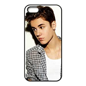 Justin Bieber Personalized Cover Case for Iphone 5,5S,customized phone case ygtg-700085