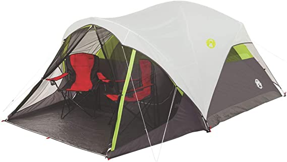 Coleman Steel Creek Fast Pitch Dome Tent with Screen Room