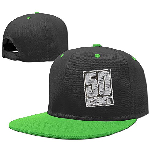 AGMPO Boy's Or Girls 50 Cent Classic Hip-pop Snapback Hat - 21 Phim