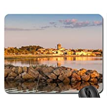 sunrise in meze france Mouse Pad, Mousepad (Houses Mouse Pad)