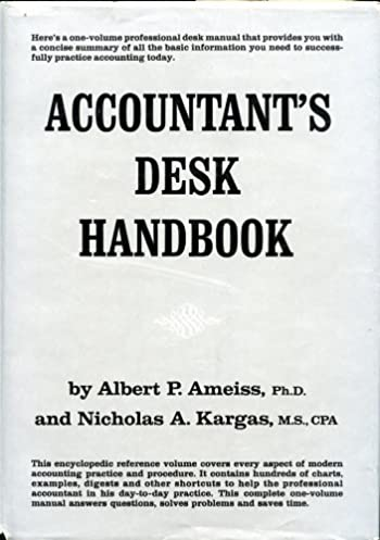 accountant s desk handbook amazon co uk albert p ameiss rh amazon co uk Woman Accountants Desk Accountants at Work