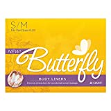 Butterfly® Pads / Body Liners for Bowel Leaks - Women's S/M 28 Count