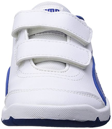 PUMA Stepfleex FS SL V - Zapatillas para niños Blanco / Azul