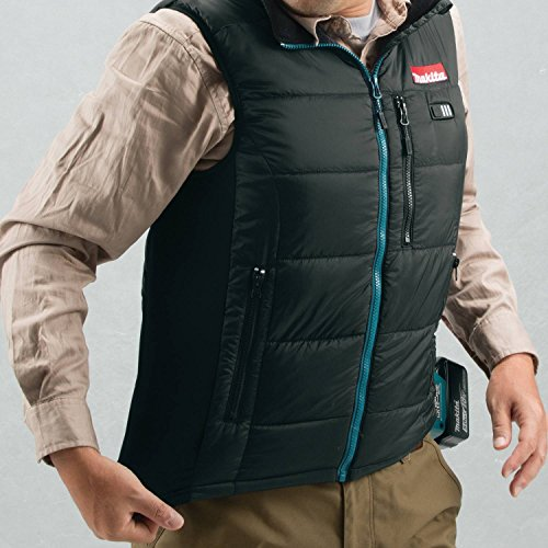 Makita DCV200ZL 18V LXT Lithium-Ion Cordless Heated Vest Only, Large, Black by Makita (Image #2)