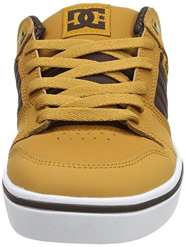DC ShoesCOURSE 2 M SHOE - pantufla Hombre Marrón - Braun (Wheat/Dk Chocolate WD4)