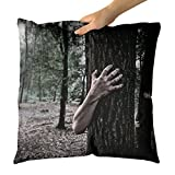 Westlake Art - Hand Forest - Decorative Throw Pillow Cushion - Picture Photography Artwork Home Decor Living Room - 16x16 Inch