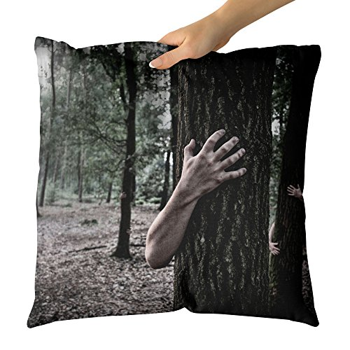 Westlake Art - Hand Forest - Decorative Throw Pillow Cushion - Picture Photography Artwork Home Decor Living Room - 16x16 Inch by Westlake Art