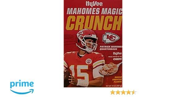 2cf9cb2e7ea24 Amazon.com: Mahomes Magic Crunch Sugar Frosted Flakes LIMITED EDITION
