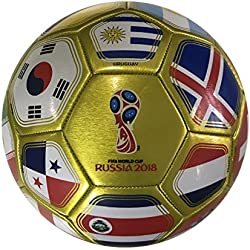 Icon Sports FIFA 2018 World Cup Russia Official Souvenir Size 5 Soccer Ball