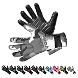 BPS 3mm Neoprene Water Gloves with Anti-Slip Rubber Palm - Water Gloves for Wetsuit, Kayaking, Rafting, Surf, and Other Aquatic Activities - for Men and Women