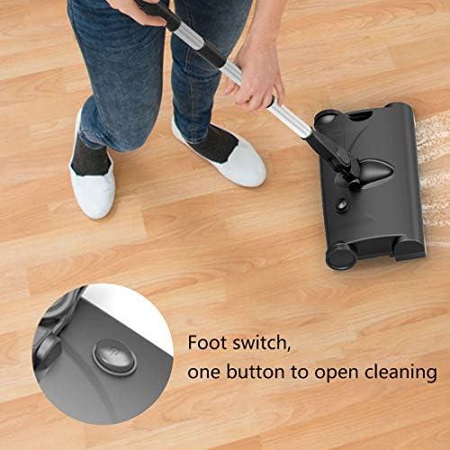 XCQHZ Ménage Charge sans Fil Machine de Balayage électrique Poignée de traînée électrique Push balayeuse Aspirateur balayant Un
