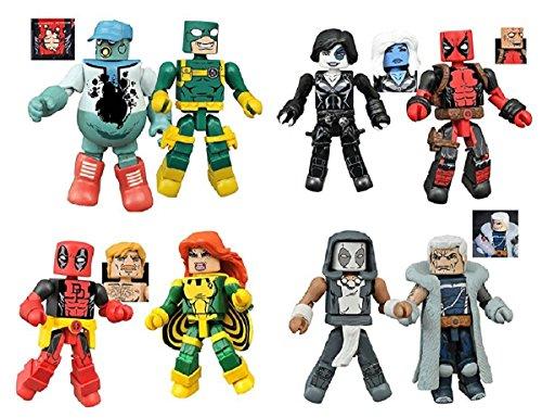 Marvel Minimates 65 Deadpool Set product image