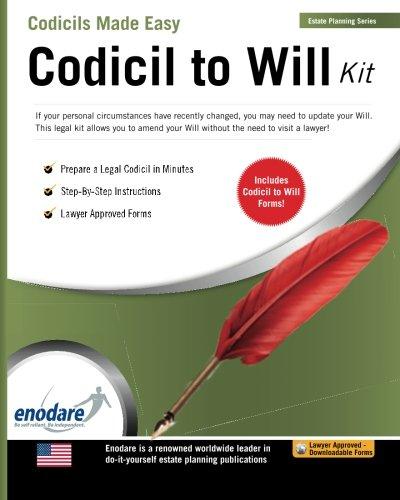 Codicil To A Willcodicil To A Will