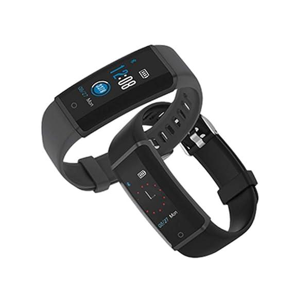 LETAMG Monitores de actividad para Lenovo HX03F Pulsera Inteligente a Prueba de Agua Pulsera Rastreador de Ejercicios Bluetooth Reloj Inteligente Reloj ...