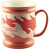 Harley Davidson Pink Sparkle Flames 12 Ounce Coffee Mug