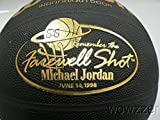 UDA Michael Jordan Wilson Farewell Shot Gold Special Edition Basketball $100