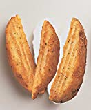 McCain Route 66 Crinkled Cut Wedge Fry - Appetizer, 5 Pound - 6 per case.