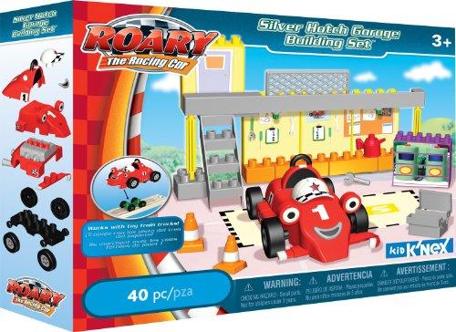 K'NEX Silver Hatch Garage Building Set
