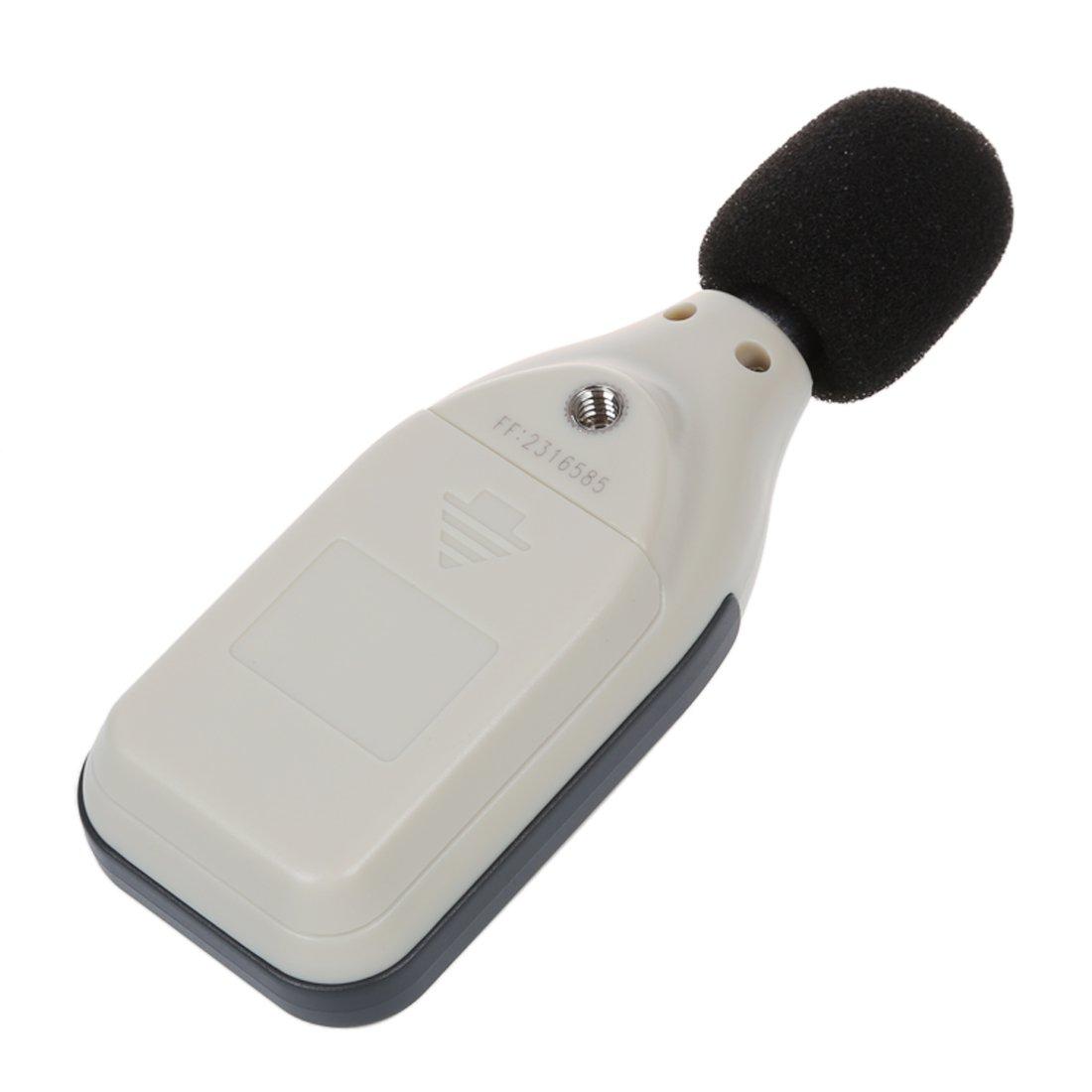 De sonido digital medidor de nivel de decibelios registrador 30-130db: Amazon.es: Electrónica