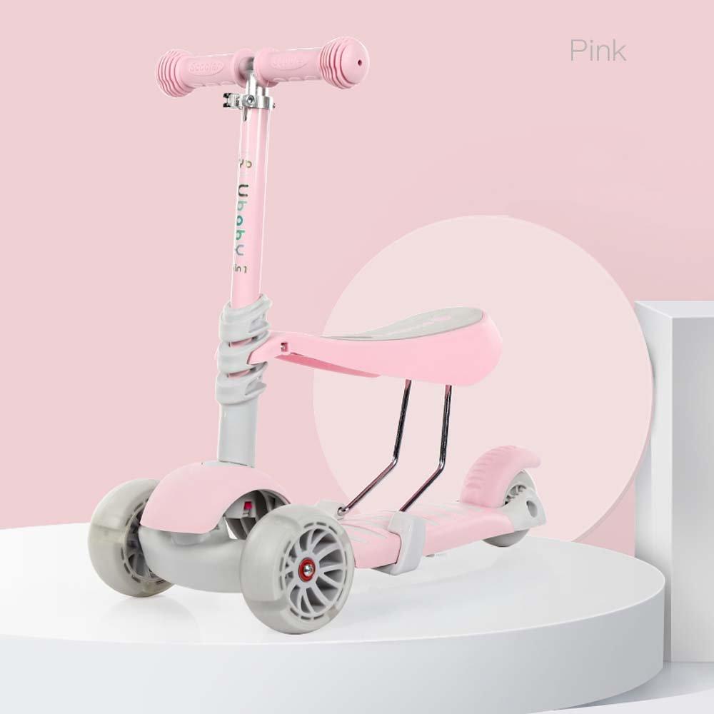 Amazon.com: gongff infantil patinete de 3 ruedas puede ...