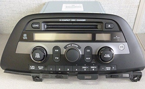 HONDA ODYSSEY OEM Radio Stereo 6 Disc Changer MP3 CD Player XM ready MODEL NUMBER 39100-SHJ-A100
