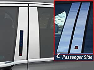 PP35610 For LINCOLN CONTINENTAL 1995-2004 4PC Stainless Steel Pillar Post Trim